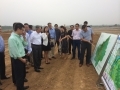 USAsialinks Health and Wellness Team Visiting Tai'An Development Site