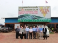 USAsialinks Team Visit Vientiane Lao Economic Zone