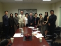 Chinese Delegation visits the USAsialinks Office