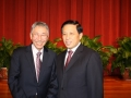 George Dang and Chinese Ambassador Zhang Yesui
