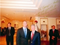 George Dang and Governor Martin O'Malley in Hanoi Vietnam