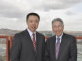 George Dang with China CIIC, VP Mr. Wu in Turkey