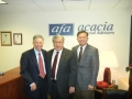 George Dang with Secretary of Veteran Affairs of Maryland Ed Chow and James Chang