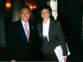 George Dang with White House Senior Advisor Valerie Jarrett