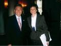 George Dang with White House Senior Advisor Valerie Jarrett