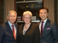 George and Linh with Deputy Chief of Mission Susan Sutton