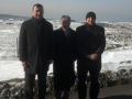 George with Turkish Partners at the Airport Project Site in Istanbul