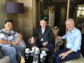 George Dang and General John Coburn Meeting with Hiep Quang in Vietnam