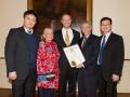 Governor Martin O'Malley and USAsialinks Team