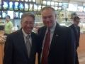US Senator Tim Kane with USAsiaLinks CEO George Dang