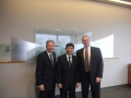 USAsialinks President George Dang with Ambassador of Vietnam and Tyson Food Executive Andy Dilatush
