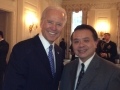 USAsialinks, SVP Shuping Chan with Vice President Joe Biden at the White House
