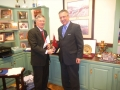 USAsialinks Senior VP Dr. Civan with Mayor of North Little Rock Patrick Henry Hays