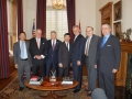 USAsialinks and Partner GTDI Meeting with Governor Beebe of Arkansas and Vietnam Ambassador Nguyen Quoc Cuong